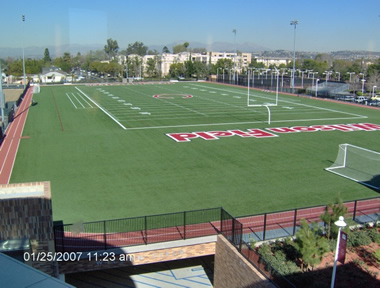 Chapman University: Wilson Athletic Field/parking garage and Lastinger Athletic Complex/swimming pool